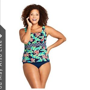 Lands' End Swim - NWOT Lands End Swimsuit Size 16 2 Piece